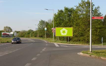 Pardubice - ulice Hradecká, směr z centra