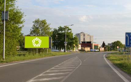 Pardubice - ulice Hradecká, směr centrum
