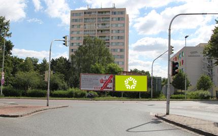 Pardubice - ulice Anenská, pravý