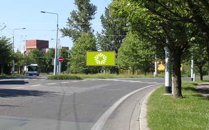 Pardubice - ulice Kosmonautů