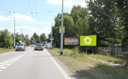 Pardubice - ulice Poděbradská, přední