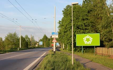 Pardubice - ulice Poděbradská, zadní