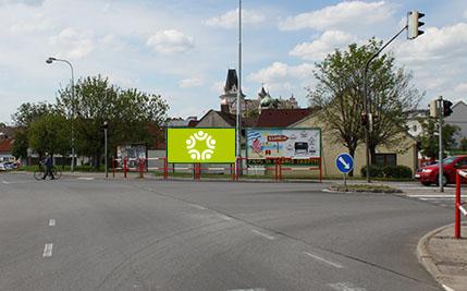 Přelouč - ulice Pardubická, levý