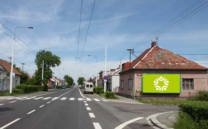 Pardubice - ulice Chrudimská / Čacké