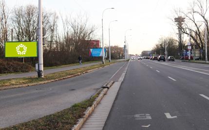 Pardubice - ulice Hradecká, za OMV