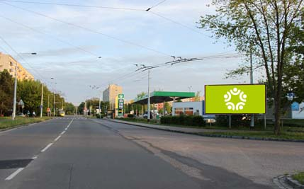 Pardubice - ulice Okrajová