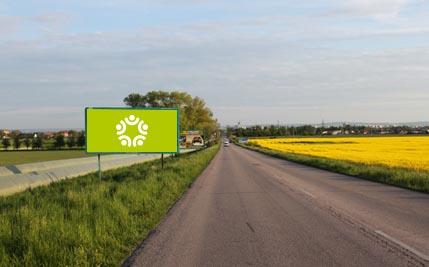 Staré Hradiště - silnice I/37, za Hradištěm na Písku, levý