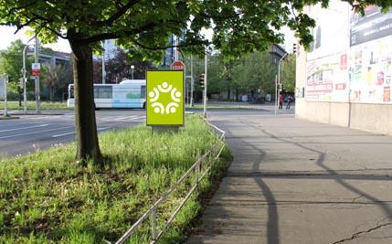 Pardubice - ulice K Polabinám / Palackého třída, směr centrum