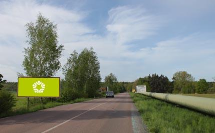 Hrobice nad Labem - silnice I/37, směr Pardubice