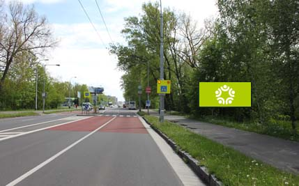 Pardubice - ulice Hradecká, u Bajkalu