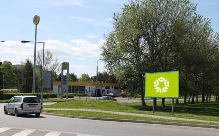 Pardubice - ulice Na Drážce