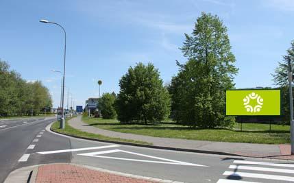 Pardubice - ulice Na Drážce / Blahoutova