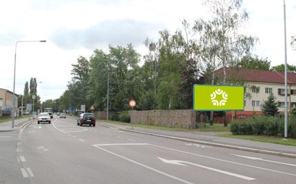 Pardubice - ulice Teplého, u Benziny