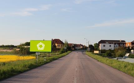 Staré Hradiště - silnice I/37, před Hradištěm na Písku