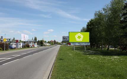 Pardubice - ulice Na Drážce, první naproti sídlu skupiny BARTH