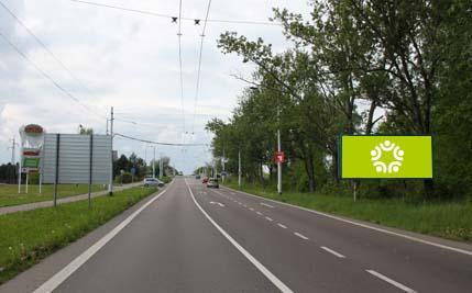 Pardubice - ulice Poděbradská, před čerpací stanicí Globus