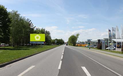 Pardubice - ulice Na Drážce, druhý naproti sídlu skupiny BARTH
