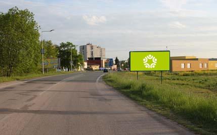 Pardubice - ulice Hradecká, u firmy Autosklo H.A.K.