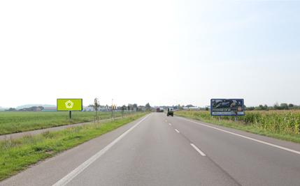 Pardubice - ulice Chrudimská, druhý před kruhovým objezdem