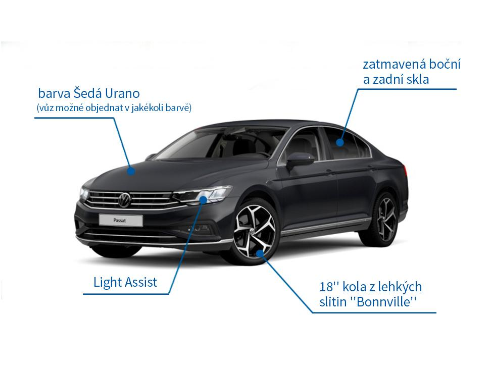 VW Passat Limousine 1.5 TSI Elegance 110 kW DSG - akční model