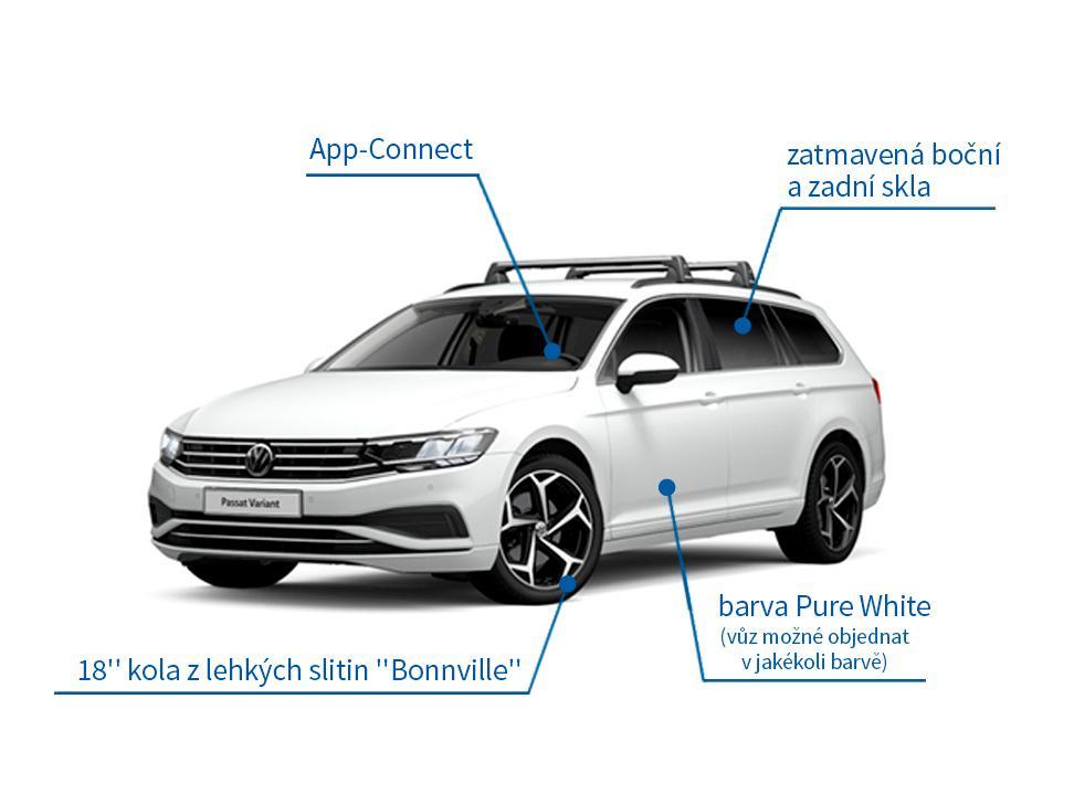 VW Passat Variant 1.5 TSI Business 110 kW - akční model