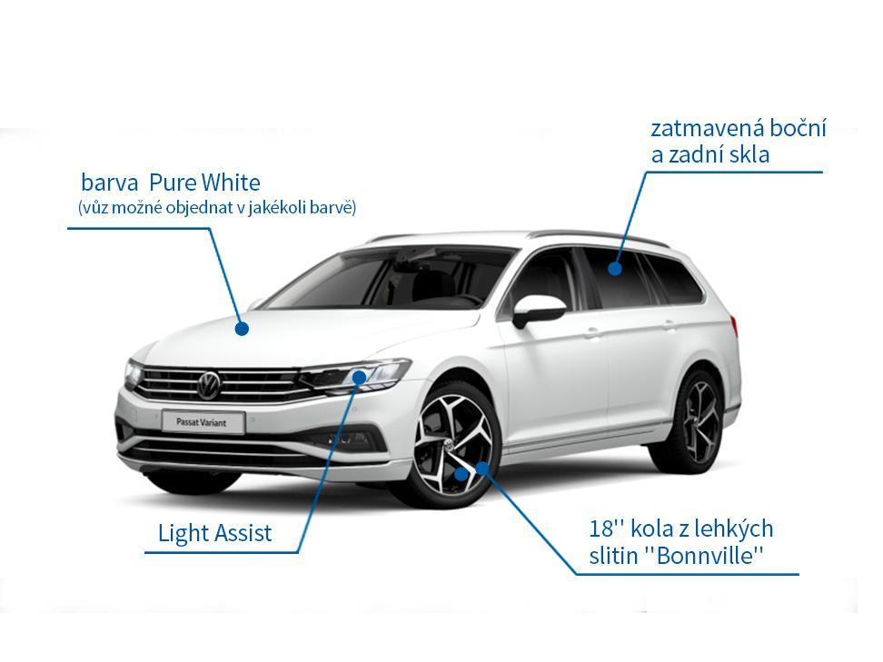VW Passat Variant 1.5 TSI Elegance 110 kW DSG - akční model