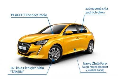 Peugeot NEW 208 Active 5d 1.2 Pure Tech 74 kW - akční model